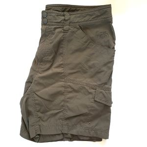 The North Face Hiking Shorts Long Green Cargo